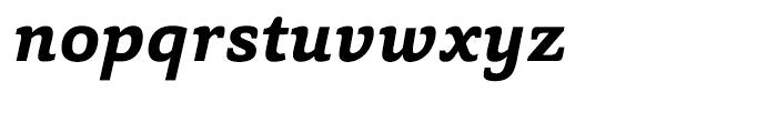 Capita Bold Italic Font LOWERCASE