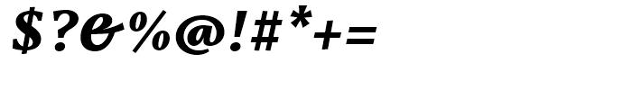 Capitolina ExtraBold Italic Font OTHER CHARS