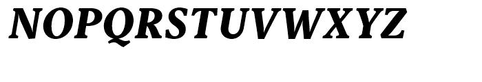 Capitolina ExtraBold Italic Font UPPERCASE