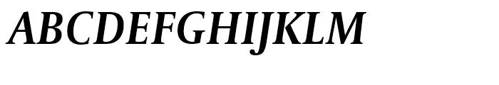 Capitolium Headline 2 Semibold Italic Font UPPERCASE