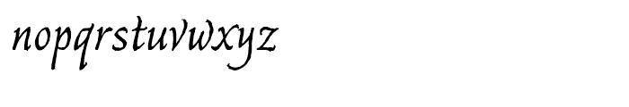 Captain Quill Regular Font LOWERCASE