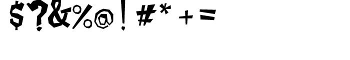 Caramello Regular Font OTHER CHARS