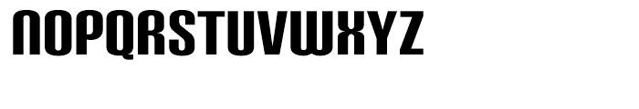 Carbon Black Font UPPERCASE