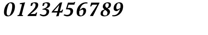 Cardamon Semibold Italic Font OTHER CHARS