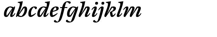 Cardamon Semibold Italic Font LOWERCASE
