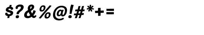 Cardigan Bold Italic Font OTHER CHARS