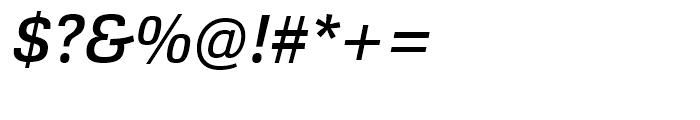 Cargan Medium Italic Font OTHER CHARS