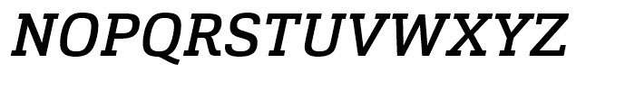 Cargan Medium Italic Font UPPERCASE