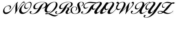Carla Regular Font UPPERCASE