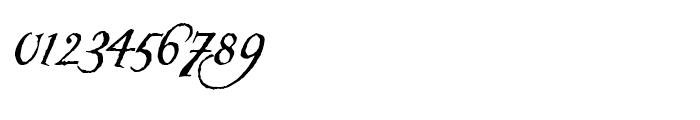 Carmilla Regular Font OTHER CHARS