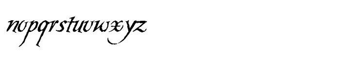 Carmilla Swash Font LOWERCASE