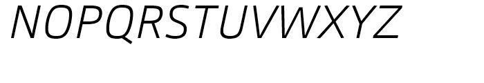 Carnac ExtraLight Italic Font UPPERCASE
