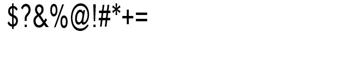 Carnova Narrow Font OTHER CHARS