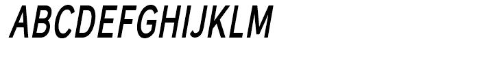 Carnova SemiBld Narrow Obl Font UPPERCASE