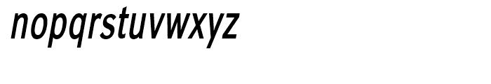 Carnova SemiBld Narrow Obl Font LOWERCASE