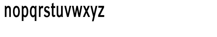 Carnova SemiBold Narrow Font LOWERCASE