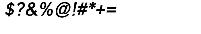 Carnova SemiBold Oblique Font OTHER CHARS