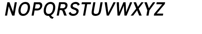 Carnova SemiBold Oblique Font UPPERCASE