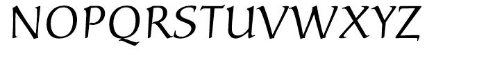 Carolina Roman Font UPPERCASE