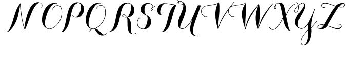 Carolyna Black Font UPPERCASE