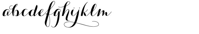 Carolyna Black Font LOWERCASE