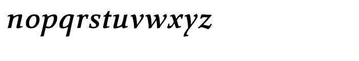 Carr Noir Demi Italic Font LOWERCASE