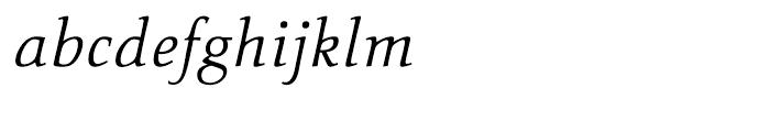 Carr Noir Light Italic Font LOWERCASE