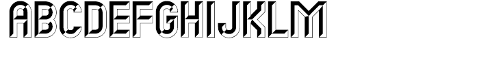 Carved Initials Font UPPERCASE