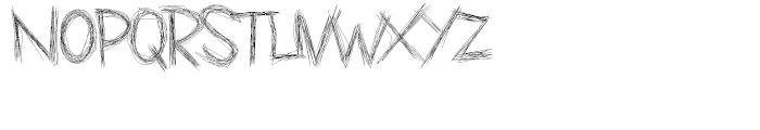 Carving Regular Font LOWERCASE