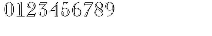 Caslon Openface Regular Font OTHER CHARS