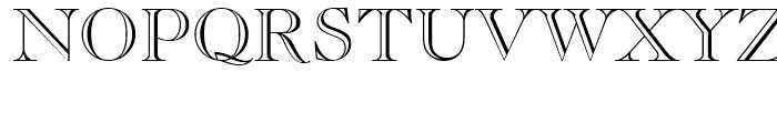 Caslon Openface Regular Font UPPERCASE