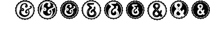 Castor Catchwords Font OTHER CHARS