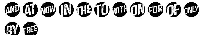 Castor Catchwords Font UPPERCASE