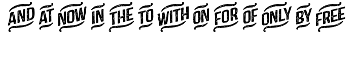 Castor Catchwords Font LOWERCASE