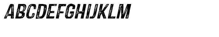 Castor Two Italic Font UPPERCASE