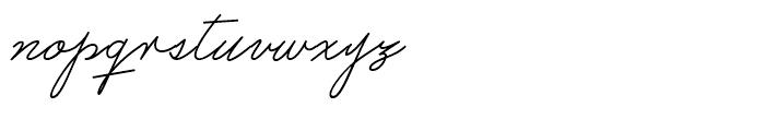 Castro Script Regular Font LOWERCASE