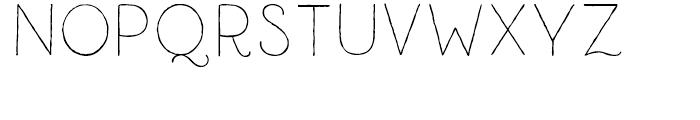 Catalina Clemente Light Font UPPERCASE