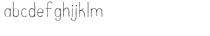 Catalina Clemente Light Font LOWERCASE