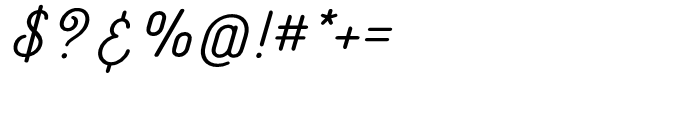 Catfish SemiBold Font OTHER CHARS