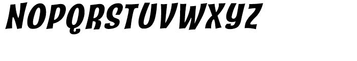 Catseye Bold Italic Font UPPERCASE