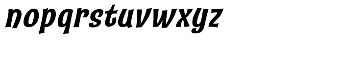 Catseye Bold Italic Font LOWERCASE