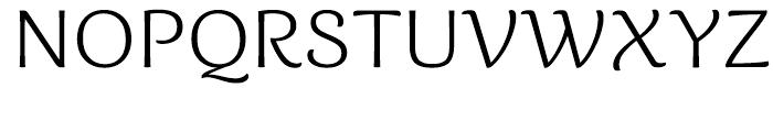 Caturrita Light Font UPPERCASE