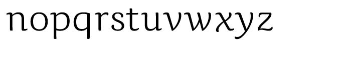 Caturrita Light Font LOWERCASE