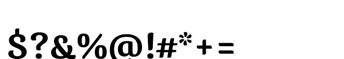 Caturrita Medium Font OTHER CHARS
