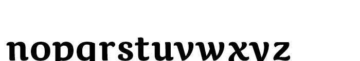 Caturrita Medium Font LOWERCASE