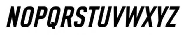 CA Geheimagent Bold Italic Font UPPERCASE