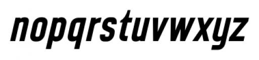 CA Geheimagent Bold Italic Font LOWERCASE