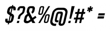 CA Geheimagent Italic Font OTHER CHARS