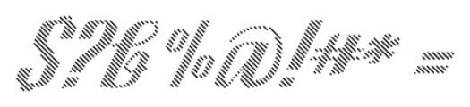 CA SpyRoyal Line Bold Font OTHER CHARS
