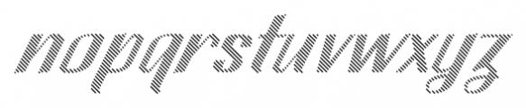 CA SpyRoyal Line Bold Font LOWERCASE